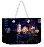 Grandma Daisy's Candy Store Weekender Tote Bag by Gunter Nezhoda