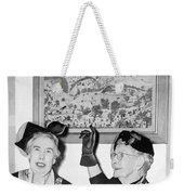 Grandma Moses Weekender Tote Bag