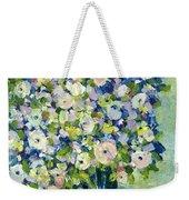 Grandma's Flowers Weekender Tote Bag