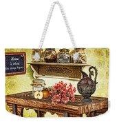 Grandma's Kitchen Weekender Tote Bag by Mo T