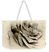 Grandma's Rose Weekender Tote Bag