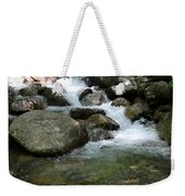 Granite Boulders In A River  Weekender Tote Bag