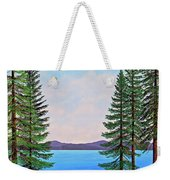Granite Boulders Lake Tahoe Weekender Tote Bag