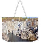 Granite Quarry, Barre, Vermont Weekender Tote Bag