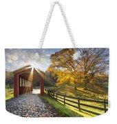 Granny Squirrel Bridge Weekender Tote Bag by Debra and Dave Vanderlaan