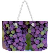Grape Bunches Portrait Weekender Tote Bag