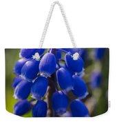 Grape Hyacinth Weekender Tote Bag by Adam Romanowicz