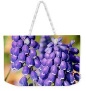 Grape Hyacinth Weekender Tote Bag