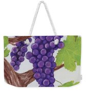 Grape Vine Weekender Tote Bag