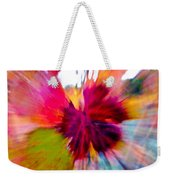 Grape Vine Burst Weekender Tote Bag