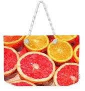 Grapefruit And Oranges Weekender Tote Bag