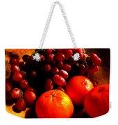 Grapes And Tangerines Weekender Tote Bag