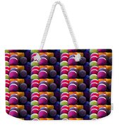 Grapes Fruit Pattern Health Background Designs  And Color Tones N Color Shades Available For Downloa Weekender Tote Bag