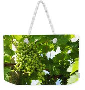Grapes In A Vineyard Weekender Tote Bag