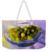 Grapes On The Half Shell Weekender Tote Bag