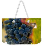 Grapes On The Vine Weekender Tote Bag by Bill Gallagher