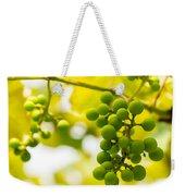 Grapes On The Vine - Finger Lakes Vineyard Weekender Tote Bag