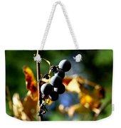 Grapes On The Vine No.2 Weekender Tote Bag