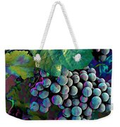 Grapes Painterly Weekender Tote Bag