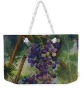 Baby Cabernets II   Triptych Weekender Tote Bag