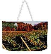 Grapevines In Vineyard, Traverse City Weekender Tote Bag