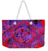Graphic Explosion Weekender Tote Bag