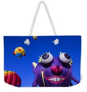 Graphic Hot Air Balloons Weekender Tote Bag