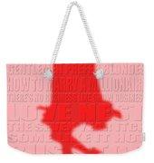 Graphic Marilyn Monroe 2 Weekender Tote Bag
