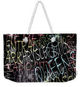 Graphic New York 3b Weekender Tote Bag