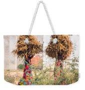 Grass Cuttings Weekender Tote Bag