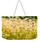Grass Feathers Weekender Tote Bag