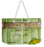 Grass Greats Weekender Tote Bag by Elaine Duras