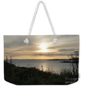 Grass In The Setting Sun Weekender Tote Bag