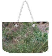 Grass In The Wind Weekender Tote Bag