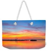 Grass Islands Of The Gulf Weekender Tote Bag