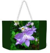 Grass Pink Orchid Weekender Tote Bag