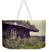 Grass Roof On Cottage Weekender Tote Bag