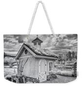Grass Roof Shed Weekender Tote Bag