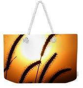 Grasses At Sunset - 2 Weekender Tote Bag
