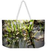 Grasses In Water Weekender Tote Bag