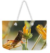 Grasshopper Delight Weekender Tote Bag