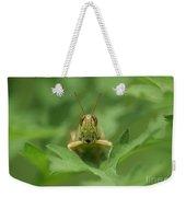 Grasshopper Portrait Weekender Tote Bag