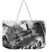 Grassi Locomotive, 1857 Weekender Tote Bag