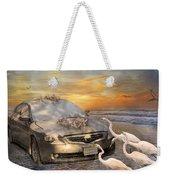 Grateful Friends Curious Egrets Weekender Tote Bag