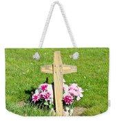 Grave Weekender Tote Bag by Tom Gowanlock