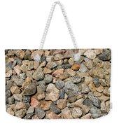 Gravel Stones Weekender Tote Bag