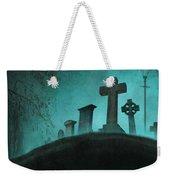 Graveyard At Night Weekender Tote Bag