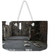 Graveyard In Church Ruin - Ireland Weekender Tote Bag