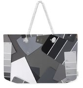 Gray Card Checker O Meter Weekender Tote Bag