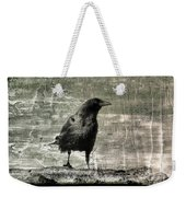 Abstract Gray Weekender Tote Bag